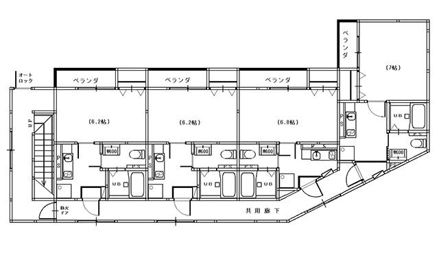 ローコストアパート建築